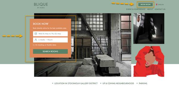 Blique bokningsmotor och webbplats (600x300)